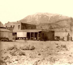 Washoe City, 1866, Lawrence & Houseworth