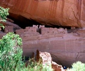 Ancient Puebloans White House Ruin Canyon de Chelly National Monument