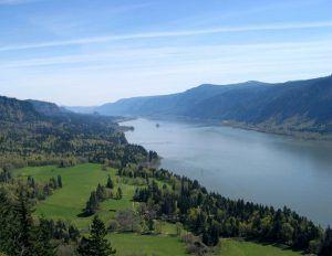 Columbia River in Washington state
