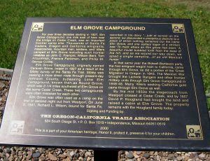 Elm Grove camp, Kansas