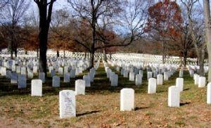 National Cemetery at Fort Leavenworth.
