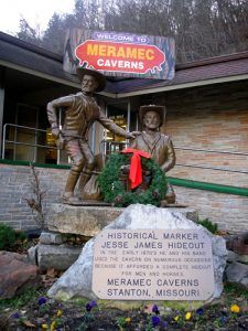 Meramec Caverns Entrance, Stanton, Missouri