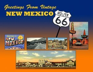 Greetings from New Mexico Postcard (Route 66)
