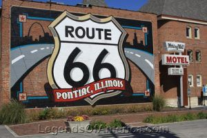 pontiac 66 mural