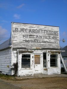 Old Rosati Store in Rosati, Missouri by Kathy Weiser-Alexander.