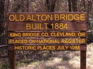 Alton Bridge Sign
