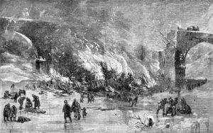 Ashtabula Disaster, Harpers Weekly, January, 1877