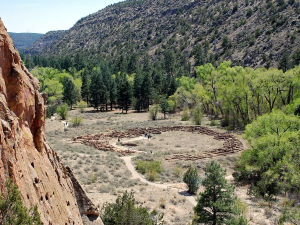 Bandelier National Monument by the National Park Service