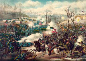 Battle of Pea Ridge, Arkansas