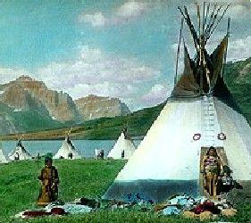 Blackfoot Tipis