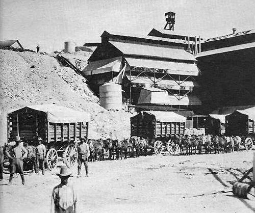 Chisos Mine in its heydays.