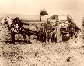 Covered Wagon 1886