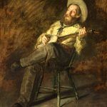 Cowboy Singing, Thomas Eakins, 1892