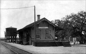 D'Hanis Depot 1914