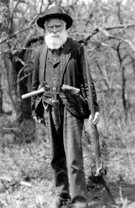 Daniel Freeman, courtesy Library of Congress.