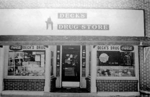 Decks Drug Store, Girard, Illinois