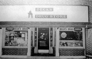 Decks Drug Store, Girard, Illinois
