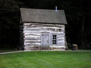 The Palmer-Epard Cabin built in 1867