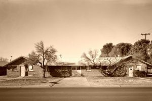 Fort Bliss, 7th Cavalry Barracks, El Paso, Texas