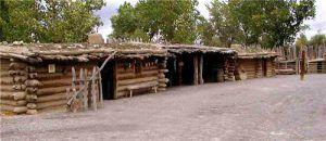 Fort Uncompahgre today, photo courtesy Malachite's Big Hole