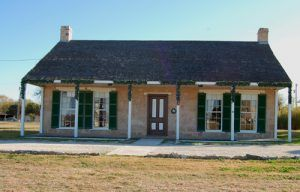 Officers Quarters at Fort Concho, Texas