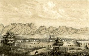 Fort Fillmore by Carl Schuchard, 1854