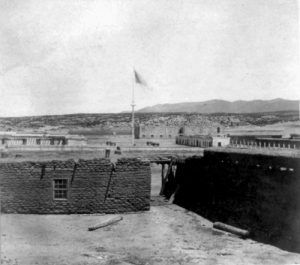Fort Marcy, New Mexico, 1868