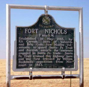 Fort Nichols Historical Marker