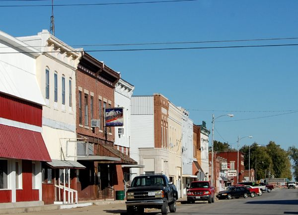 Route 66 in Girard, Illinois by Kathy Weiser-Alexander.