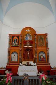 Goliad Mission Espirtu Santo Interior