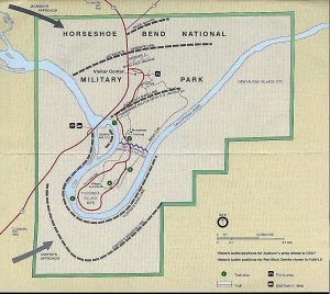 Horsehoe Bend Map