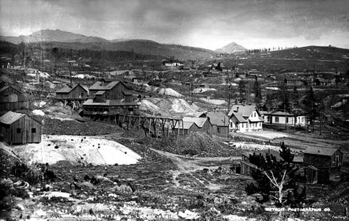 The Little Pittsburg Mine in 1882.