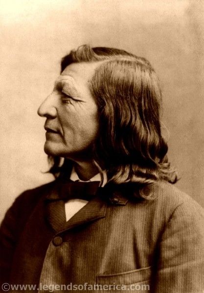 Luther Standing Bear, Dakota chief 1891