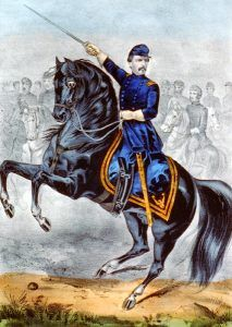 Major General George B. McClellan at the Battle of Antietam