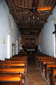 Mission San Juan Church Interior