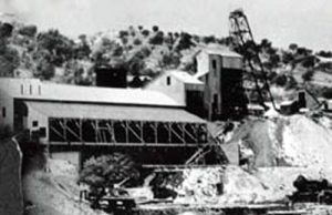 Montana Mine, 1935, Ruby Arizona