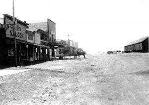 Nara Visa, New Mexico about 1900