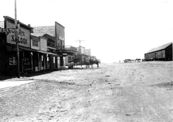 Nara Visa, New Mexico about 1900