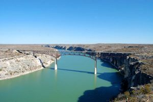 Bridge over the Pecos River, in Texas by Kathy Weiser-Alexander.