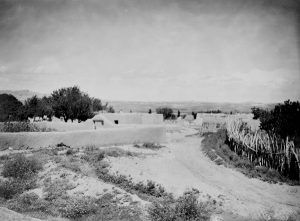 Pojoaque Pueblo, Edward S. Curtis, 1905