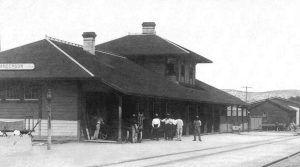 Sanderson Depot about 1910