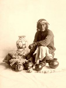 Santo Domingo Peddler, Carl E. Moon, 1906