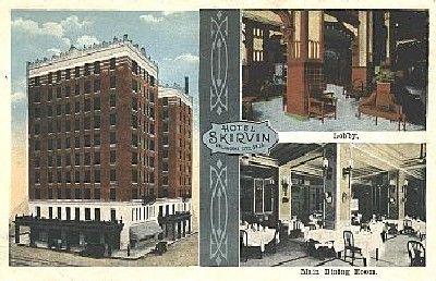 Skirvin Hotel Postcard