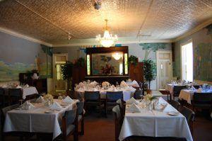St James Hotel Dining Room, Cimarron, New Mexico