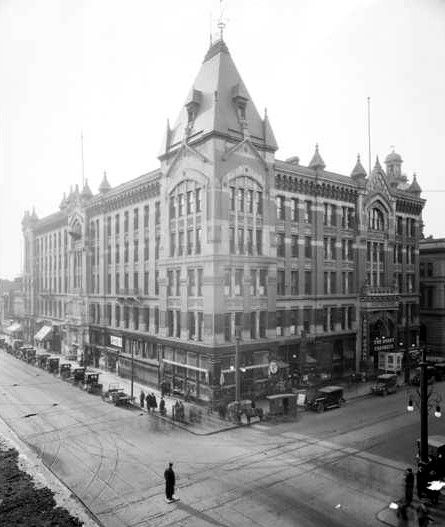 Tabor Grand Opera House in the 1920's, courtesy Denver Public Library