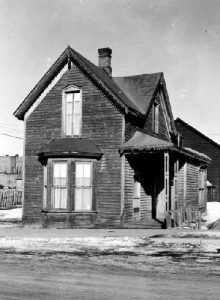 Horace and Augusta House in 1955