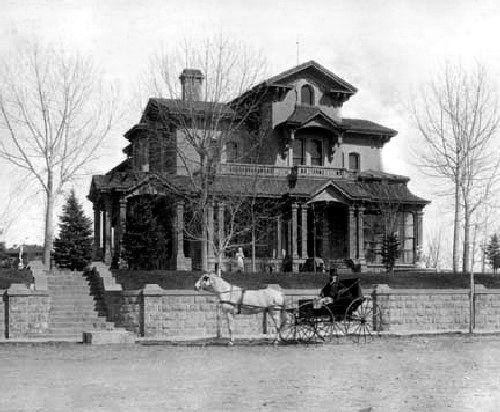 The Tabor Mansion in Denver, courtesy Denver Public Library.