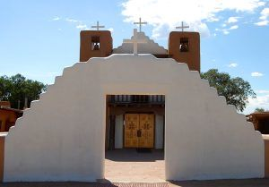 Taos Pueblo, New Mexico Church