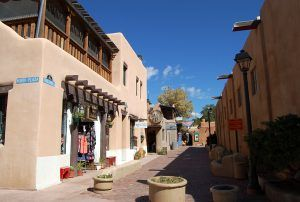 Taos, New Mexico Downtown