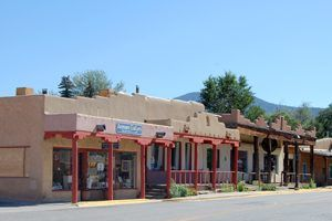 Taos, New Mexico Street